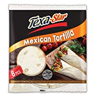 "‏‪Texa-Star Wheat Tortilla 20"" X8‬‏"
