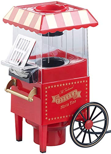Rosenstein & Söhne – Heißluft – Popcornmaschine – Retro - 5