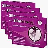 Slim Strong | 120 Tabletten (vegan) | Natürlicher Fatburner |Unterstützung für die natürliche Entgiftung | L-Carnitin + Roter Tee Extrakt + Bohnensamen | Pharmaqualität