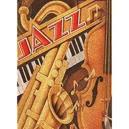 Clementoni Puzzle 30204 – Jazz –  500 pezzi Cork Puzzle (Sughero)