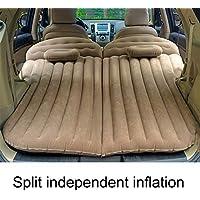 Weastion Nuevo SUV Cama de viaje Colchón de aire universal para automóvil PVC + Flocado Cama inflable Vehículo todoterreno Cama para dormir al aire libre ...