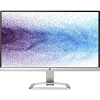 HP 21.5 inch (54.6 cm) Edge to Edge LED Monitor - Full HD, IPS Panel with VGA, HDMI Ports - 22ES (Silver/Black)