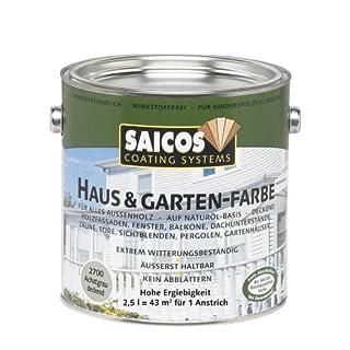 Saicos 2700 500 Haus und Gartenfarbe achatgrau 2.5 l