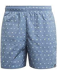 adidas Men's Cv5125 Allover Print Swim Shorts