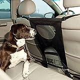 Easylifer Barriere/ Barriere Hunde/Hundegitter Auto/ Trenngitter Hund Auto/ Sicherheitsnetz für Auto