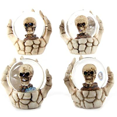 Skull Water ball in Skeleton Hand