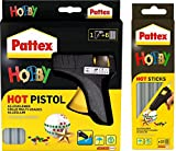 Pattex Hot Pistol Starter Set-Hobby, 1425723 + Pattex 1425722 Hot Sticks Hobby 200 g