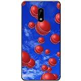 Es regnet Cricketbälle Hartschalenhülle Telefonhülle zum Aufstecken für Nokia 6