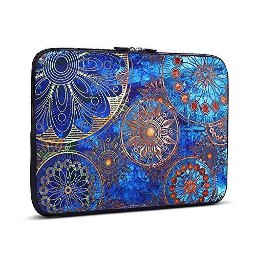 iCasso 11-13.3 Laptop Sleeve Style de Bohême Nylon Protecteur Cover Imperméable étui Housse pour MacBook Air, MacBook Pro, Tablet PC, Ultrabook, 11-13,3 Pouces Ordinateur Portable