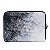 iCasso 11 Inch Laptop Sleeve, Neoprene Elegent Protective Notebook Bag Briefcase Cover Carrying