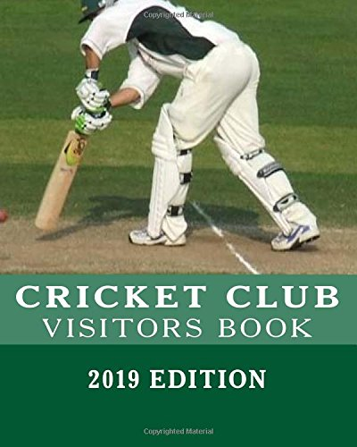 VISITORS BOOK - Cricket Club por Campus Elysium