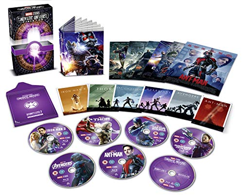 Marvel Cinematic Universe Phase 2 [Blu-ray] [UK Import]