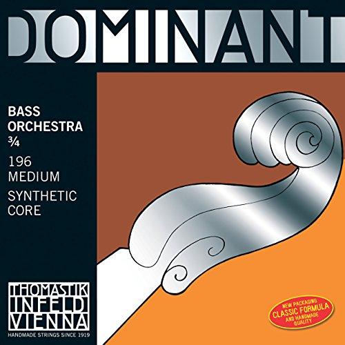 Thomastik-Infeld 3885.0W Spirocore, Bass Saiten, komplett Set, weich 3/4Größe, Orchestral Tuning