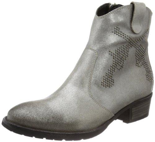 Kennel und Schmenger Schuhmanufaktur Mao 61-34660.253 Damen Cowboy Stiefel Grau (Taupe)