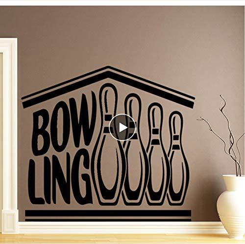 Zwyluck Kreative Bowling Wandaufkleber Dekoration Zubehör Für Kinderzimmer Kinderzimmer Dekor Home Party Decor Tapete58 * 75 Cm