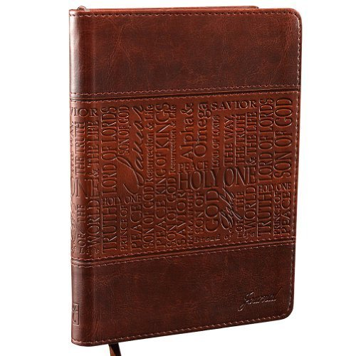 Names of Jesus Brown Flexcover Journal by Christian Art Gifts (Corporate Author) (2011) Imitation Leather