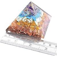 Pyramid Orgonite Seven Chakra 2.5-3 inch Gemstone Chakra Balancing Reiki Healing + 1 Red Jasper Pointer Pendant preisvergleich bei billige-tabletten.eu