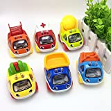 #8: Akhand Unbreakable Automobile Engineering Vehicle Car Toy Set (Pack of 6)