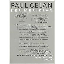 Werke. Tübinger Ausgabe: Der Meridian. Endfassung – Entwürfe – Materialien