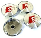 Set of Four Alloy Wheels Centre Hub Caps S LI...Vergleich