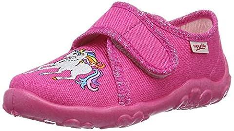 Superfit Mädchen Bonny Flache Hausschuhe, Pink (Pink 63), 26 EU