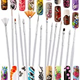 Best Wet Brush Nail Brushes - LEEQ 24 Pieces Nail Art Design Set, 5 Review