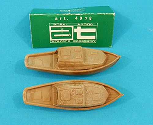 Amati modellismo 4978 motoscafo cabinato in legno plastico 8 cm