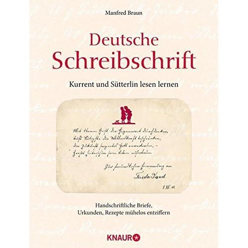 Pdf Deutsche Schreibschrift Kurrent Und Sütterlin Lesen Lernen