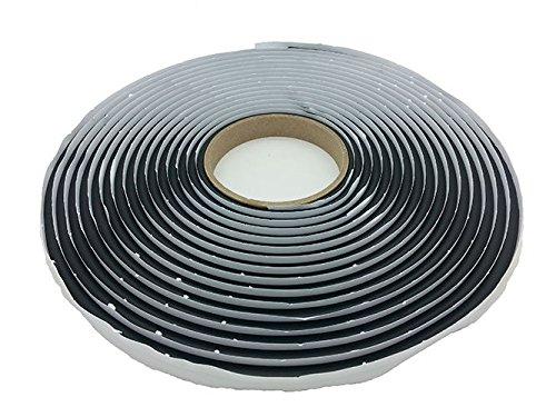 Butyl-Dichtband, Verklebung, Anbauteile, Transporter, Autos, Dachluke, Fischteich, 6 mm 8 mm x 8 m, Rolle