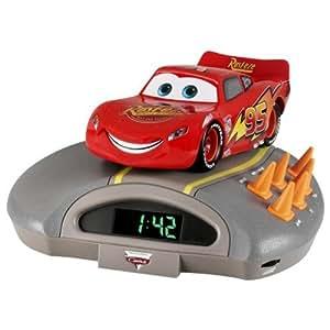 Lexibook RL010DC Radio réveil Disney Cars Ecran LED FM / AM stéréo