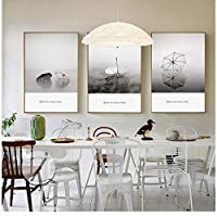 Nordic Decoration Umbrella Wall Art Poster Modern Minimalist Canvas Painting Black White Print Decorative Picture for LivingRoom 50 * 70cm