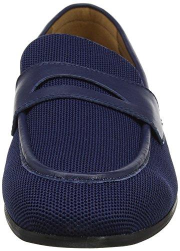 Steve Madden Herren Enmeshed Loafer Slipper blau (marineblau)