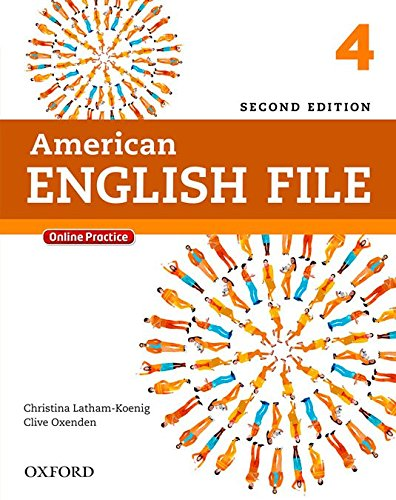 American English File 2nd Edition 4. Student's Book Pack (American English File Second Edition)