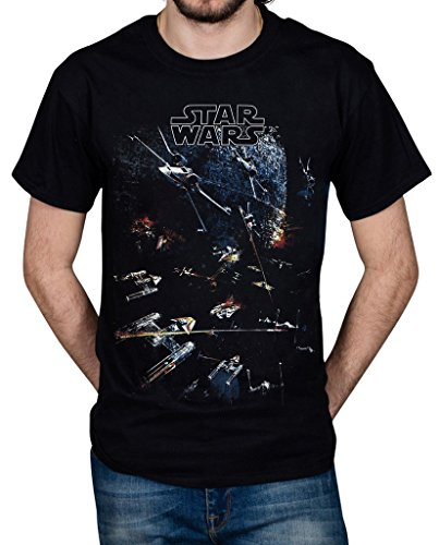 Cosmic Saint Official Star Wars Universe Unisex T-Shirt Licensed Band Merch A New Hope Galaxy