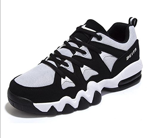 Sport chaussures running chaussures mesh chaussures course-amorties black and white