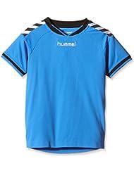 Hummel stay authentic maillot en jersey bleu 03–554–7428 4