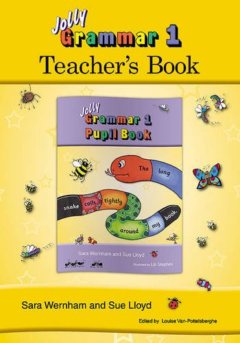 Jolly grammar. Teacher's book. Per la Scuola elementare: 1 (Jolly Grammar 1)