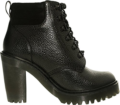 Dr.Martens Womens Persephone Fur Linned Leather Boots Black