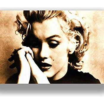 Amazon.de: Kunstdruck Marilyn Monroe Bild fertig auf