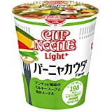 Nissin Cup Noodle Light plus Bagna cauda 52g × 12 pieces