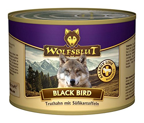 Wolfsblut Black Bird, 6er Pack (6 x 200 - Nassfutter Wolfsblut