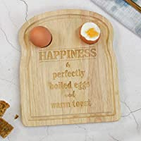Toast Shaped Egg Cup Breakfast Board