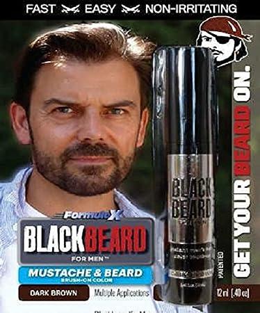 Buy Black Beard For Men Beard Hair Color (Dark Brown) Online at ...
