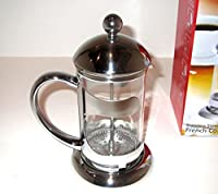 Uniware High Quality Stainless Steel French Coffee Press, Silver (600ml (2.5 Cups))