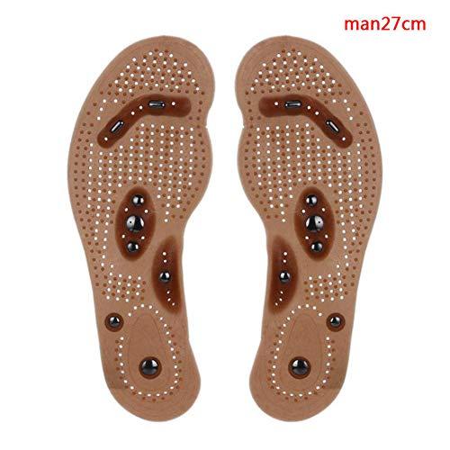 1 paire de chaussures à semelles Peut être découpé d'acupression Pied Massage Chaussures inserts Health Care circulation sanguine soulager la fatigue