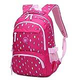 Mädchen Rucksack Rucksack, Schultasche für Kinder Kleinkinder Studenten Bookbag Lässiger Tagesrucksack Laptop Rucksack Outdoor Reisetasche - Idee für Mädchen Alter 3 4 5 6 7 8 9 10 Jahre alt - Rosa