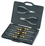 KNIPEX 00 20 18 ESD Elektronikzangen-Set für Arbeiten an elektronischen Bauteilen