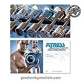 50 Stk. Geschenkgutscheine für Fitnessstudios, Fitnesscenter, Sport, Bewegung FI1701