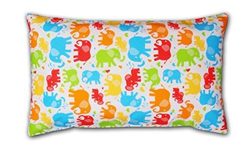 Amilian® Dekokissen Kissenbezug Kissen 40cm x 60cm Elefant Bunt -