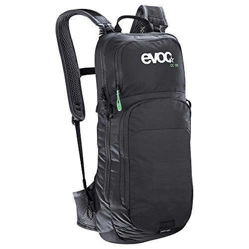 evoc CC 10L + 2L Bladder Performance Rucksack, Black, 50 x 20 x 10 cm, 12 Liter